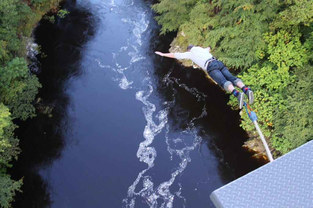 Highland Fling Bungee in Killiecrankie Perthshire