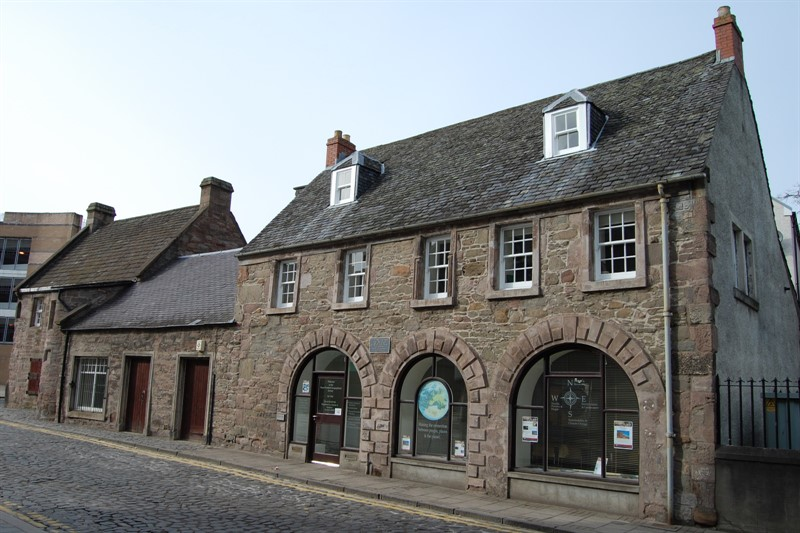 The Royal Scottish Geographical Society at the Fair Maid's House in Perth