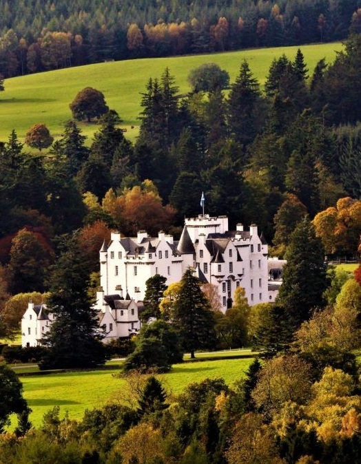 Blair Castle in Perthshire