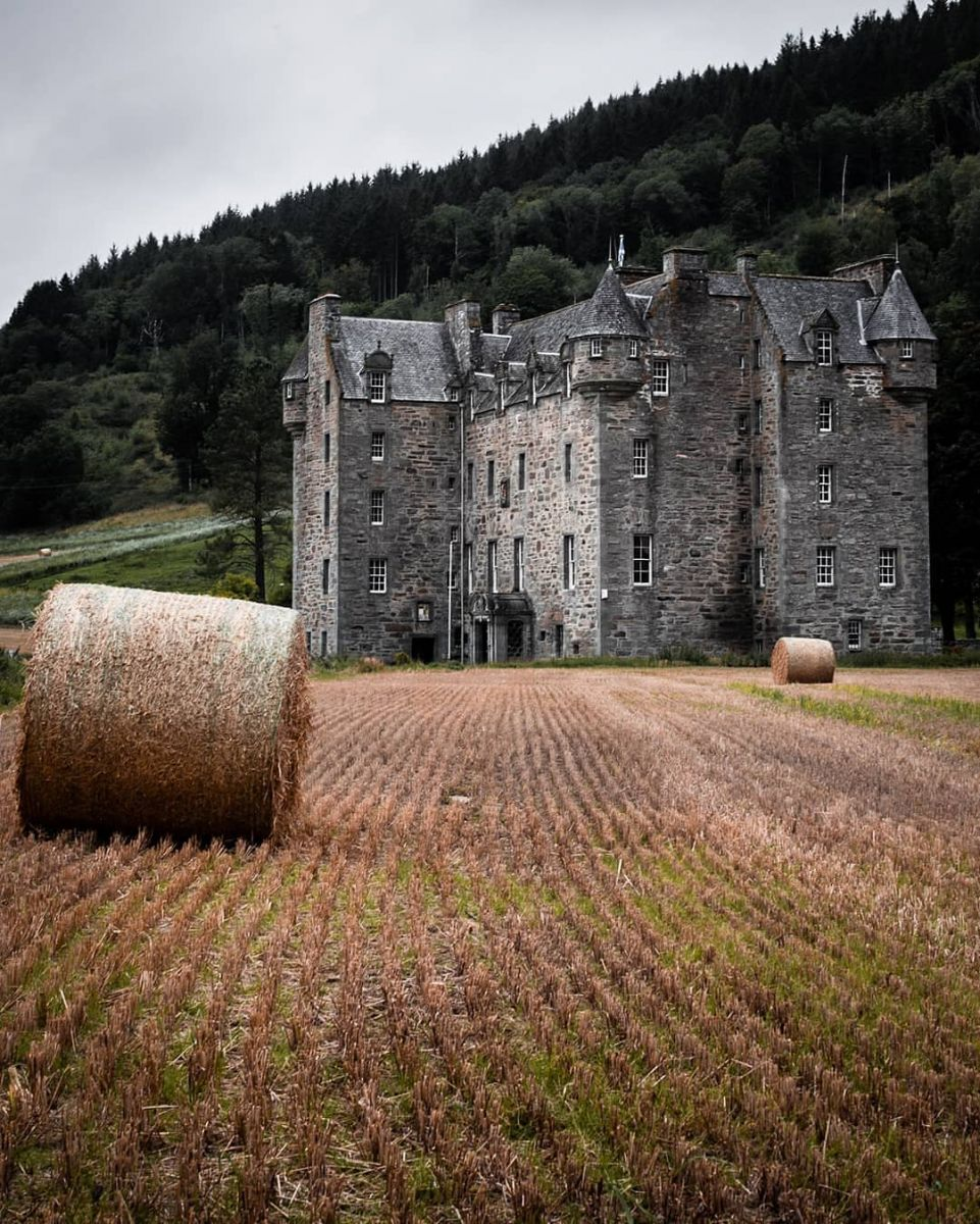Castle Menzies in Perthshire