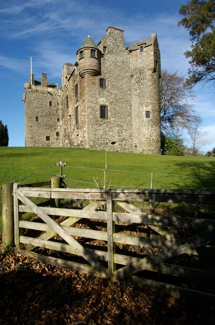Elcho Castle in Perthshire