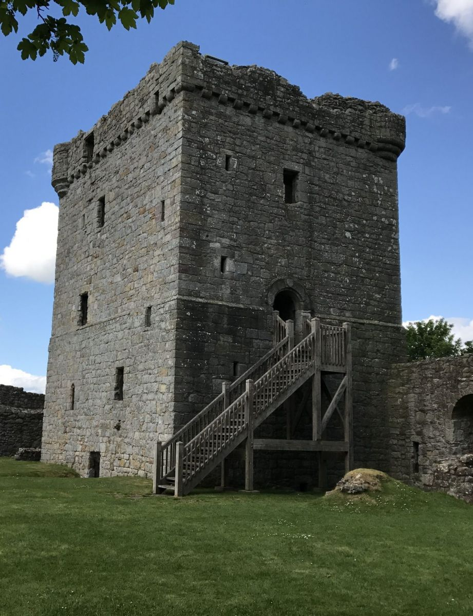 Loch Leven Castle in Perthshire