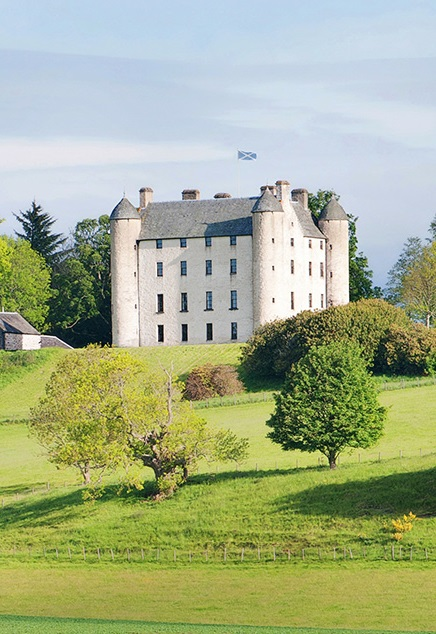 Methven Castle in Perthshire
